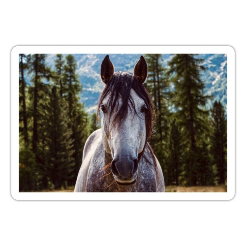 Nature Horse by #CreativeArts - Sticker