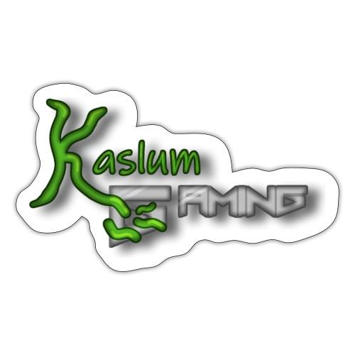 Kaslum Gaming Logo - Sticker