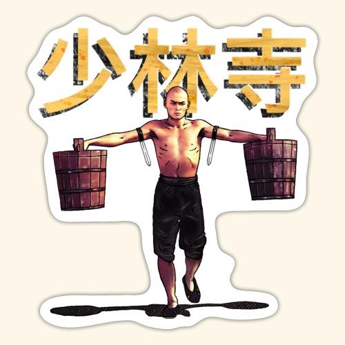Shaolin Warrior Monk - Sticker