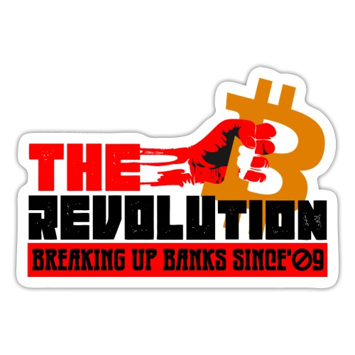 Die Bitcoin Revolution - BTC Revolution - Sticker