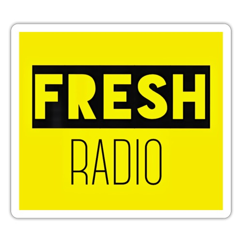 FreshRadio LOGO - Sticker