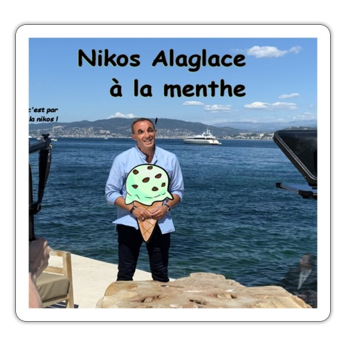 Nikos Alaglace - Autocollant