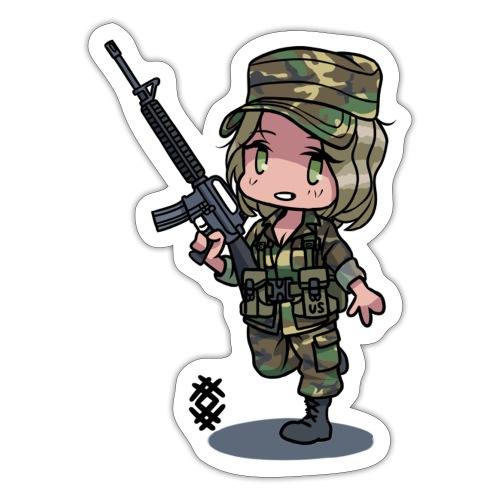 M81 BDU girl - Tarra