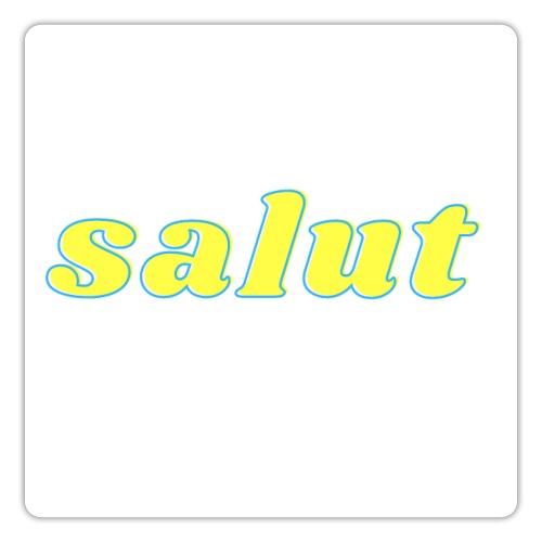 salut 6 - Autocollant