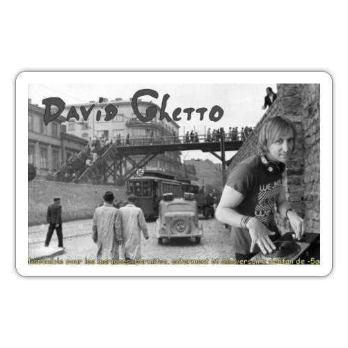 David Ghetto - Autocollant