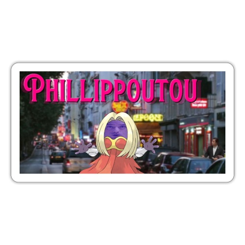 Phillipp0ut0u - Autocollant