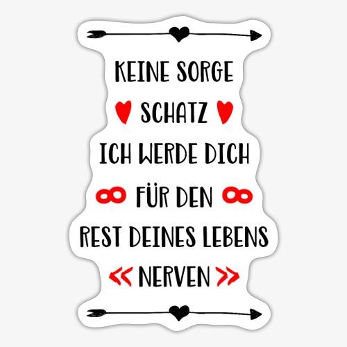 Ich liebe dich für den rest deines Lebens - Sticker