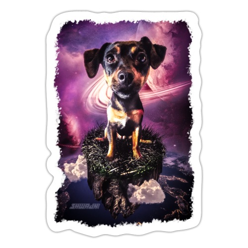 A dog's loyalty is rock solid... - Sticker