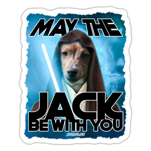 May the Jack be with you - Sticker