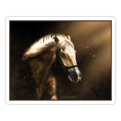 The Restless Stallion - Sticker