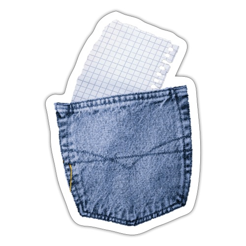 Jeans Baggy by #OneCreativeArts - Sticker