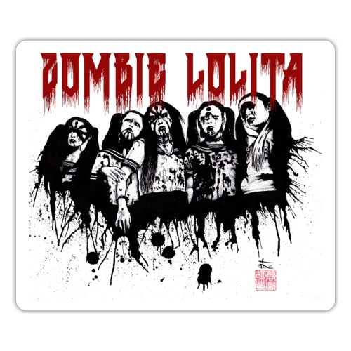 Zombie Lolita 1 - Autocollant