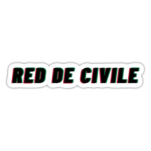 RED DE CIVILE main logo - Sticker