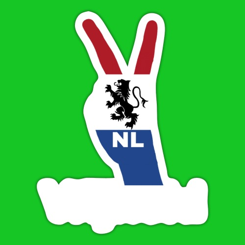 Vrijheid Nederland - Sticker