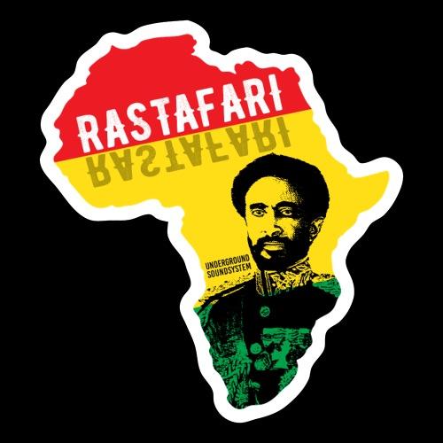 RASTAFARI AFRICA - Sticker
