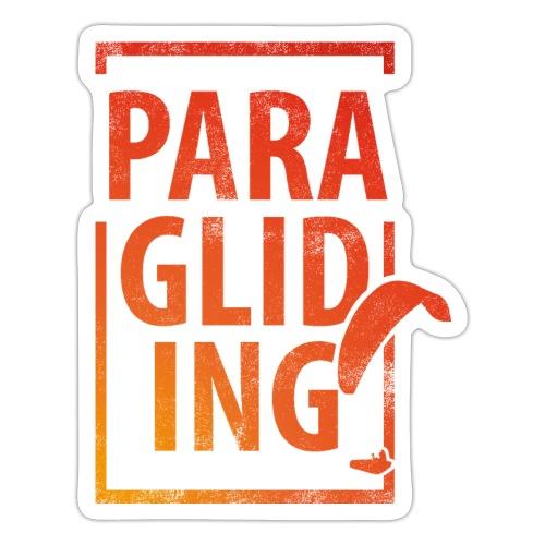 Paragliding Gleitschirmfliegen Paragleiten - Sticker