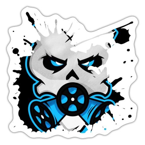 HZ GasHead Logo splash - Sticker