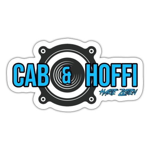 cab & Hoffi Logo HZ - Sticker