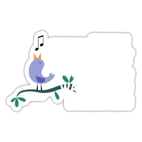 Wenn du einen Vogel hast... - Sticker