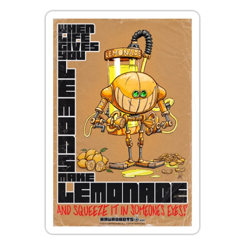 Lemonade Robot!🍋 - Sticker