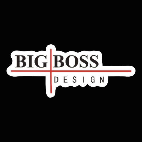 BigBossDesign Logo - Sticker