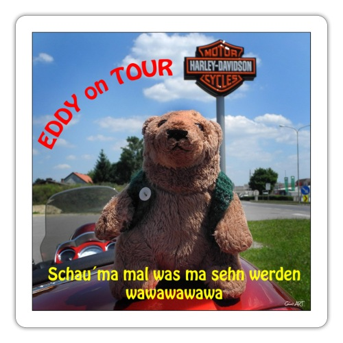 EDDY on the Road - Sticker