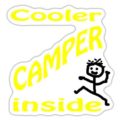 Cooler Camper - Sticker