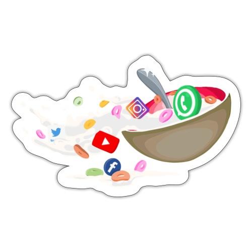 Cereals Socials - Sticker