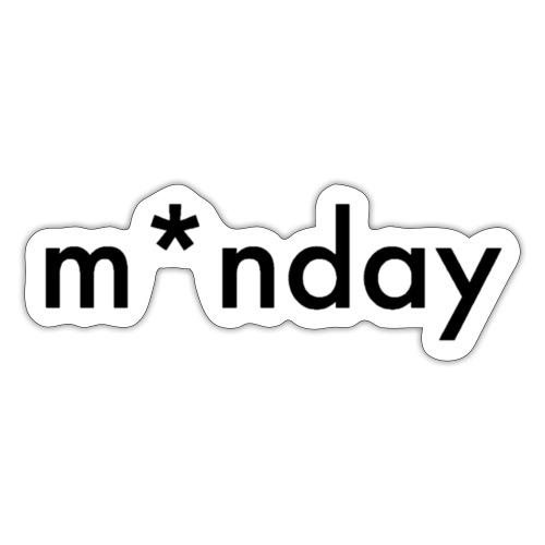 m*nday - Sticker