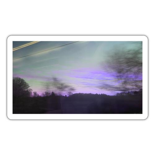 lilac sky - Sticker