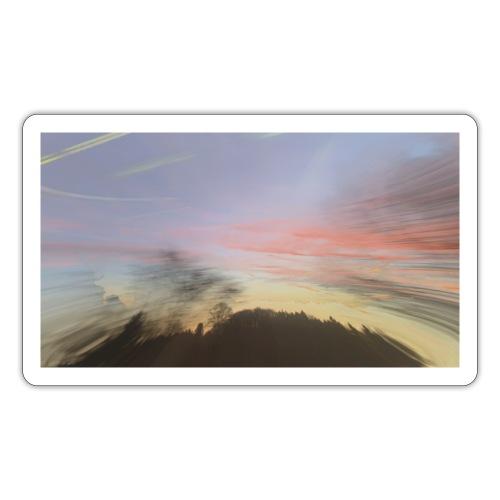 pink sky - Sticker