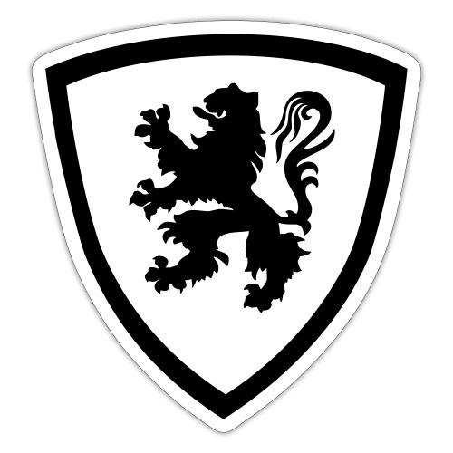 Bouclier flamand - Flanders De Leeuw - Autocollant