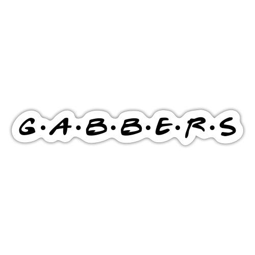 Gabbers ( Gabbers ) - Autocollant