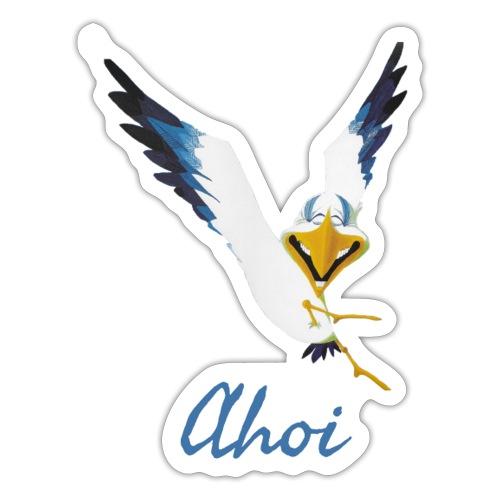 Lachmöwe Ahoi - Sticker