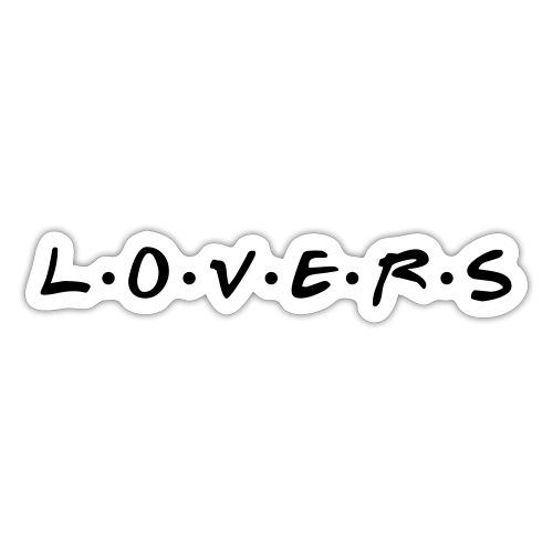 Amoureux - amoureux - Autocollant