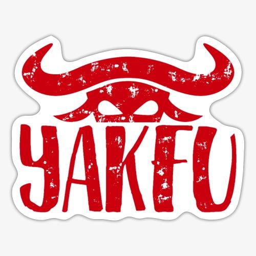 YakFu (Red) - Sticker