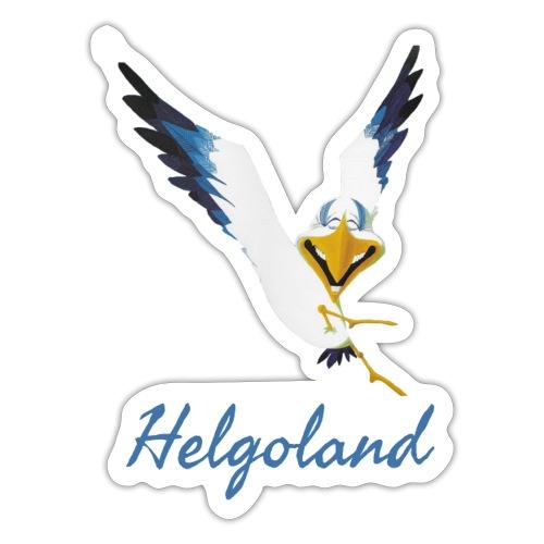 Lachmöwe Helgoland - Sticker