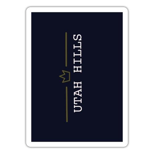 Utah hills - Sticker
