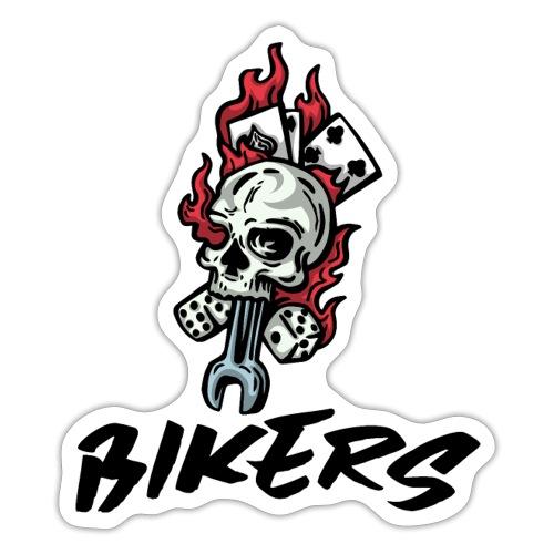 bikers 66 - Autocollant