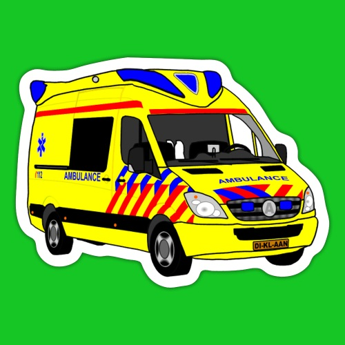 Ambulance - Sticker