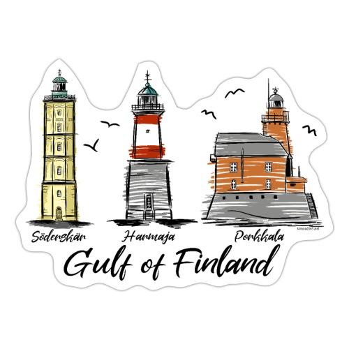 Söderskär, Harmaja, Porkkala Majakkatuotteet Shop - Tarra