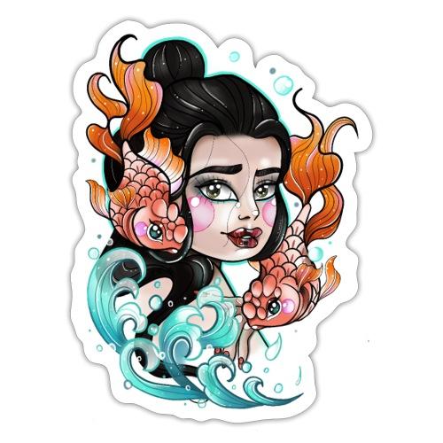 Lady fish - Autocollant