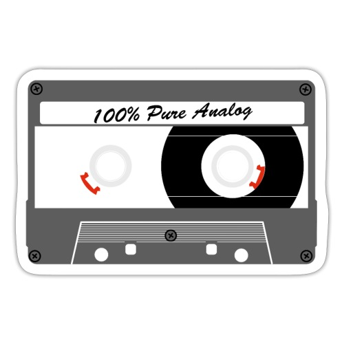 Cassette Pure Analog - Sticker