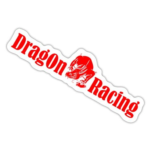 Dragon long skrå - Sticker