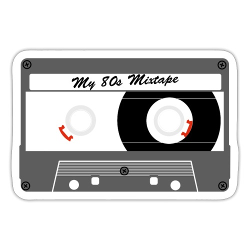 My mixtape cassette - WA - Sticker