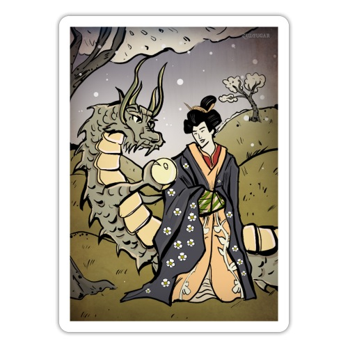 Ukiyo-E - Sticker