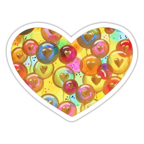 Regenbogen LiebesLuftballons Sonja Ariel vonStaden - Sticker