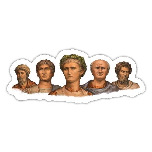 Popiersia cesarskie | Imperial busts - Naklejka