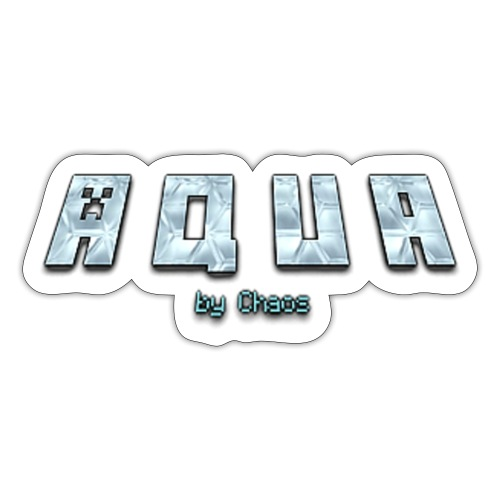 Aqua Design - Sticker