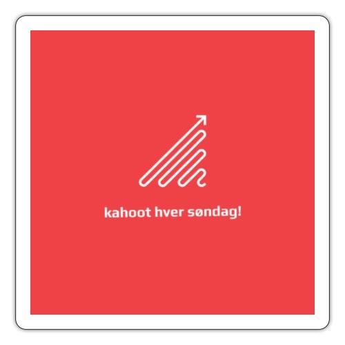 kahoot hver søndag - Sticker